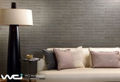 Wallpaper Specifications Brand: Hooked on Walls Collection: Classic Victory *Sold per roll Roll Width: & Roll Length: How does it Room Wallpaper, Wallpaper Ideas, Victorious, Wall Lights, Couch, Living Room, Classic, Furniture, Ranges
