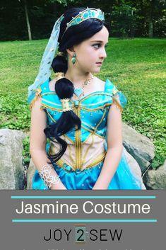 Jasmine costume just like the Disney movie!