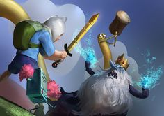 ArtStation - Adventure Time, Even Amundsen