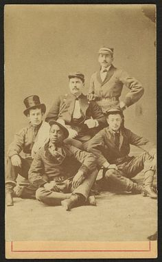 Group of firemen. 1865-1870. Library of Congress.