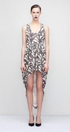 KAELEN FW12 // Fan Print Dress