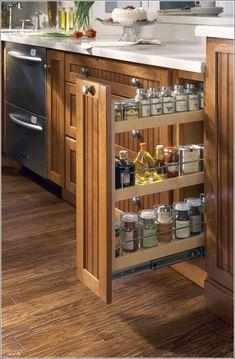 Laci rak tarik kabinet dapur minimalis
