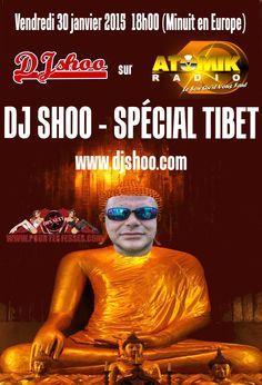 DJ SHOO on Atomik Radio this friday 18h00 (Midnight Europe) www.djshoo.com