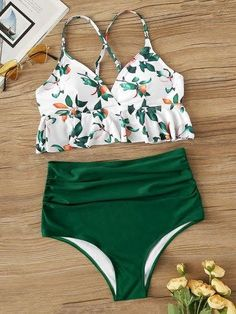 To find out about the Peplum Top With Ruched High Waist Bikini Set at SHEIN, part of our latest Bikinis ready to shop online today!Product name: [good_name] at SHEIN, Category: Bikinis, Price: [good_price] Bikini Sets, Bikini Modells, Haut Bikini, High Leg Bikini, Sport Bikini Set, High Waisted Bikini Bottoms, Sexy Bikini, High Waist Swimsuit, Cute Swimsuits High Waisted
