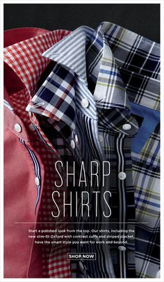 Nice crisp shirts down in a playful way. no wrinkles. Works better with more structured collars.
