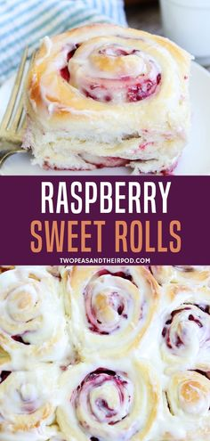 Turn Your Classic Cinnamon Roll Into This Deliciously Yummy Raspberry Cream Cheese Sweet Rolls Recipe Perfect For Any Occasions, This Treat Is Perfect For Brunch Or As A Dessert. Present With Glazed Cream Cheese Frosting To Hype Up The Flavor Brunch Recipes, Sweet Recipes, Unique Recipes, Sweet Roll Recipe, Sweet Bread Rolls Recipe, Sweet Biscuit Recipe, Raspberry Recipes, Raspberry Danish Recipe, Think Food