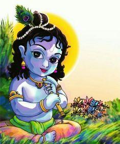 725 Best Krishna paintings images in 2019 | Lord krishna, Indian Art