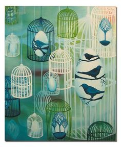 by Clare Whitney (Australian Artist) Art Programs, Australian Artists, Printmaking, Photo Art, Flora, Tropical Birds, Art Things, Watercolor, Graphic Design