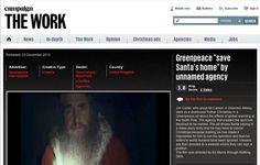 Campaign - The Work  Greenpeace & Santa's little helpers #savesanta #santa #christmas #greenpeace #arctic #jimcarter