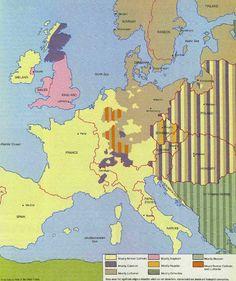 Religion in 1618 Europe