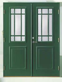 Ytterdør <3 men i en anna farge - litt for grønn denne... ;)