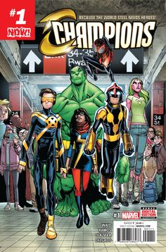 Now Champions (2016) Issue #1