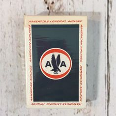 Vintage Pre-1968 American Airlines Astrojets Playing Cards - Complete Deck