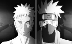 Kakashi and Obito Naruto Shippuden, Kakashi And Obito, Naruto E Boruto, Naruhina, Anime Naruto, Team Minato, Akatsuki, Enemies, Vocaloid