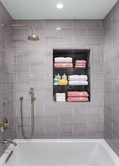 Tiny house bathroom remodels ideas are something that you need to scale your bathroom up to the next level. In this case, I have some tiny house bathroom remodel ideas that you may try to remodel your bathroom design. Large Tile Bathroom, Tiny House Bathroom, Bathroom Renos, Bathroom Layout, Bathroom Storage, Bathroom Ideas, Master Bathroom, Cozy Bathroom, Master Baths