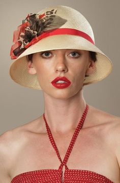 Best Hats for Women With Short Hair - and what earrings to wear - new article by request - TO READ CLICK HERE: http://boomerinas.com/2013/05/best-hat-styles-for-women-with-short-hair/