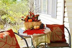 Spray Paint a Pillow? :: Hometalk This would work great for a table runner!