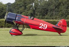 Travel Air R (replica) Seen at the Shuttleworth Collection's July Wings & Wheels Air Display.