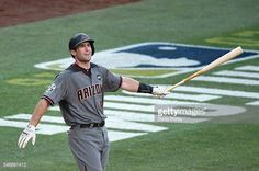 Paul Goldschmidt of the Arizona Diamondbacks reacts during the 87th Annual MLB AllStar Game at PETCO Park on July 12 2016 in San Diego California