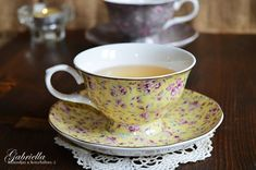 Gabriella kalandjai a konyhában :): A legomlósabb linzer Torte Cake, Baking Recipes, Tea Cups, Food And Drink, Tableware, Cupcake, Cooking Recipes, Dinnerware, Tablewares