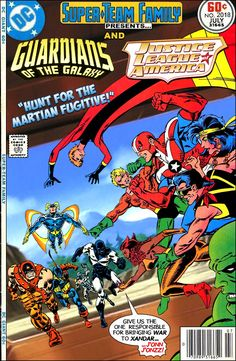 Super-Team Family: The Lost Issues!: Guardians of the Galaxy and Justice League of America