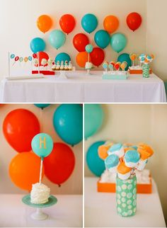 bubble themed first birthday party idea outdoor parties recipes