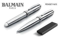 Balmain Pens Concorde Ballpoint Pen and Rollerball Pen. #balmain #penset #ballpointpen