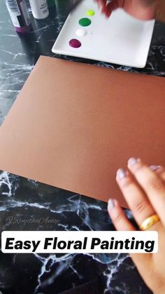 Acrylic Painting Tips, One Stroke Painting, Stone Painting, Acrylic Paintings, Creative And Aesthetic Development, Diy Art Projects, Painting Leather, Diy Wedding Decorations, Diy Wall Decor