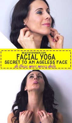 You simply need to get in the habit of practicing #faceyoga every day to firm sagging jaw, neck and throat or double chin also good in toning your face and warding off crow's feet. Slow down the onset of the first signs of aging.