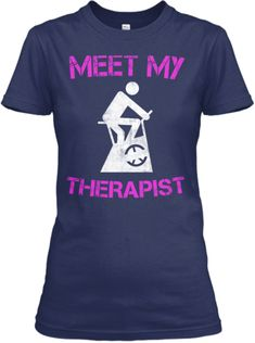 SPIN CLASS THERAPY SHIRT | Teespring Many times Spin class saved me from beating the crap out of someone...LOL