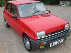 Renault 5 Alpine Turbo Red
