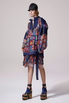 Sacai Resort 2017 Collection Photos - Vogue