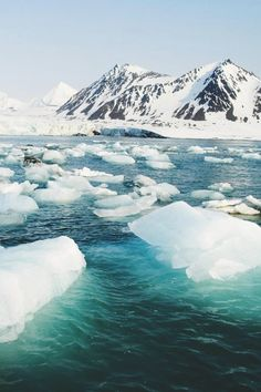 Svalbard, Norway ♛  Appreciate this picture while you can before the effects of climate change destroy this environment. Climate Change is real and happening now.      ♛~✿Ophelia Ryan ✿~♛