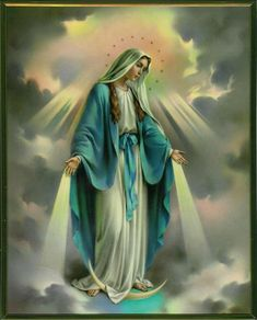October - Month of the Most Holy Rosary Our Lady Of The Holy Rosary Novena Prayer My dearest Mother Mary, behold me, your ch. Mama Mary, Religious Pictures, Jesus Pictures, Angel Pictures, Blessed Mother Mary, Blessed Virgin Mary, Queen Mother, Mother Teresa, Happy Mothers