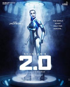 #2.0 First Look: #amyjackson is a sexy droid in the #rajinikanth – #akshaykumar magnum opus
