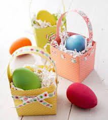 cestas para huevos de pascua - Buscar con Google