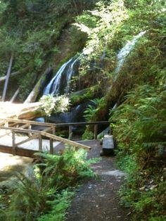 Russian Gulch Waterfall Fort Bragg/Mendocino, CA....Pretty!