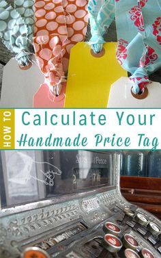 Ever wondered about why handmade goods cost more than something from the big box store? Here is the main reason plus how to calculate your own handmade price point.