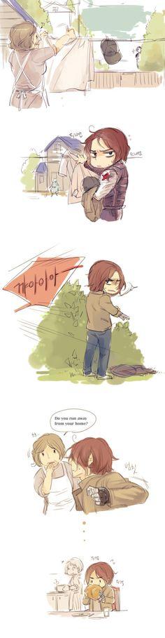 piiib:  a runaway boy bucky!?