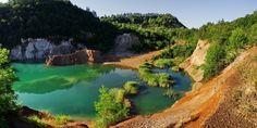 Magyarország legmélyebb tava - Rudabányai-tó - Világutazó Heart Of Europe, Hungary, Budapest, Scenery, River, Landscape, Nature, Pictures, Outdoor