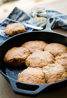 Recipe: Cheesy Whole-Grain Biscuits