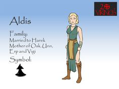 This is Aldis from the Viking Clan of the Comic Books (Graphic Novels) 20Vikings.