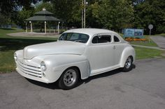 1947 Ford Business Coupe chopped