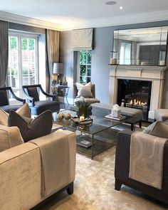 How To Quickly And Easily Create A Living Room Furniture Layout? Living Room Furniture Layout, Home Living Room, Interior Design Living Room, Living Room Designs, Living Room Decor, Modern Furniture, Interior Livingroom, Formal Living Rooms, Living Room Inspiration