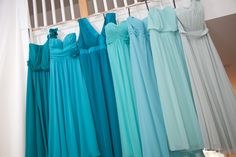 ombre bridesmaid dresses from my wedding