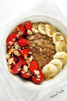 Helathy Food, Sweet Recipes, Healthy Recipes, Picky Eaters, Bon Appetit, Acai Bowl, Healthy Lifestyle, Oatmeal, Healthy Eating