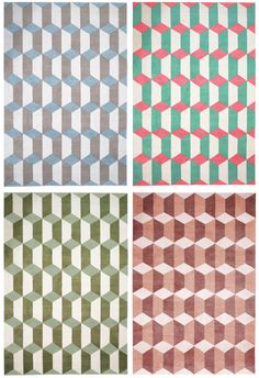 patterns upon patterns // top right color palette is so cute