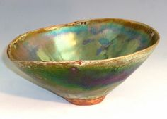 Luster Bowl with Texture angela de mott