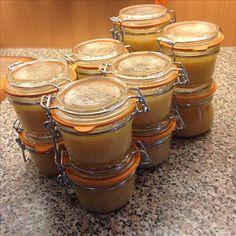 Compote de pommes - stérilisation 2016