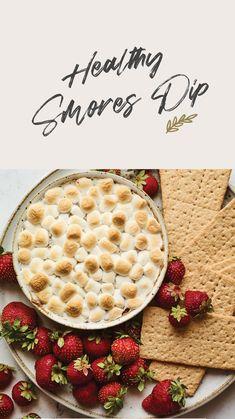 Healthy Summer Recipes, Healthy Dessert Recipes, Summer Desserts, Fall Recipes, Delicious Desserts, Healthy Snacks, Dessert Dips, Yummy Food, Healthy Eating